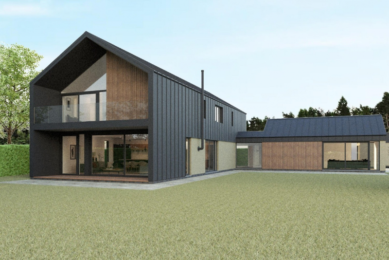 Typical External Elevation 2 Artists Impression