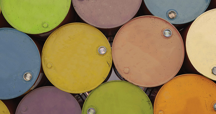 Hero Oil Barrels