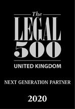 Legal 500 Next generation partner