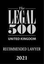 Uk recommended lawyer 2021