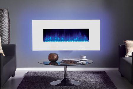 Radiance 100 W White Glass With Purple Glow 2 Mi 1