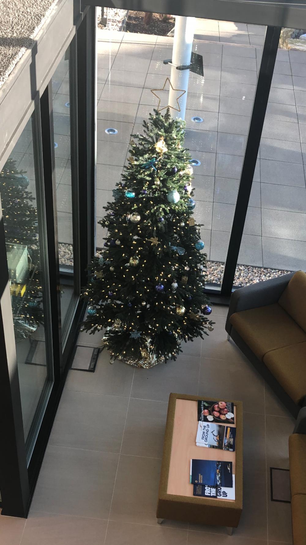 Office xmas tree