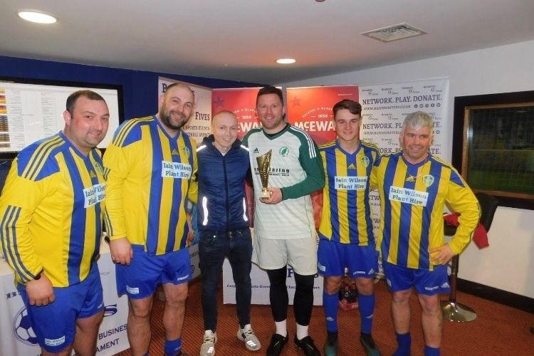 Inter Marrlaine Win Europa League at Tayside Business Fives