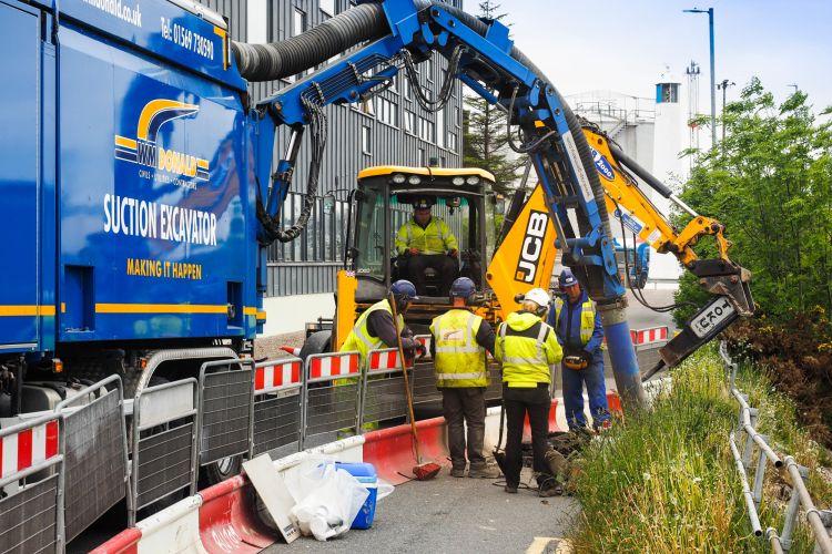 Structural Soils Suction Excavation